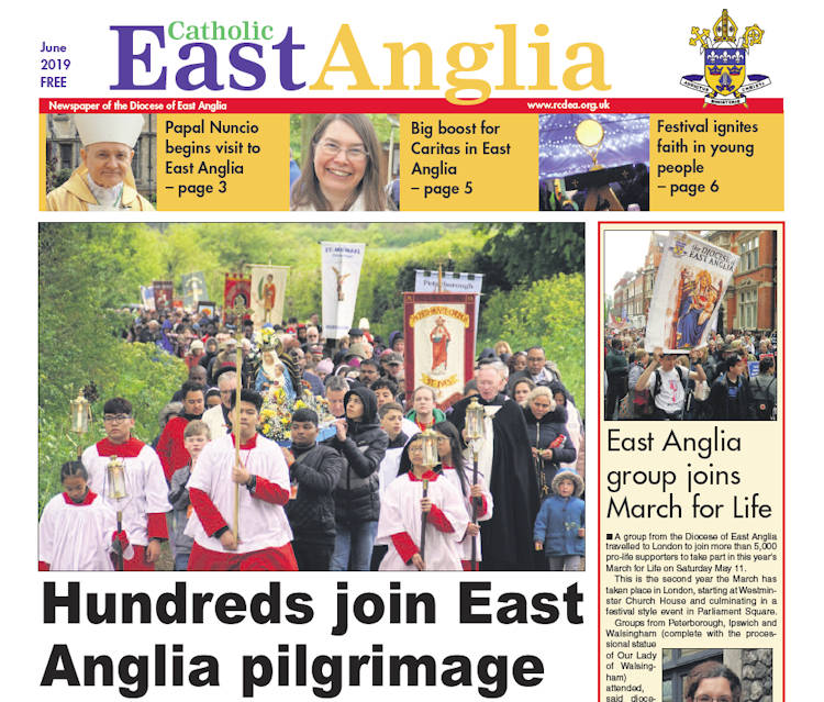 Newspaper – Roman Catholic Diocese Of East Anglia