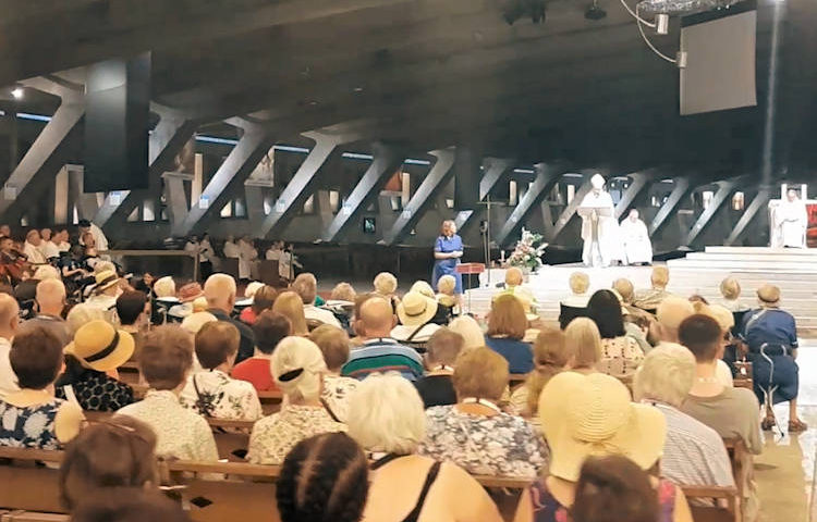 Listen to Bishop Alan's homily at Lourdes pilgrimage – Roman